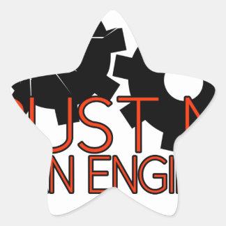 Trust Me, I'm an engineer. Star Sticker
