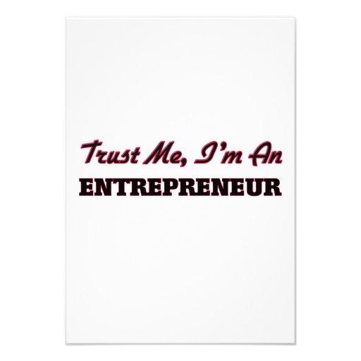Trust me I'm an Entrepreneur Custom Invites