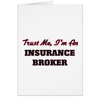 Trust me I'm an Insurance Broker Cards