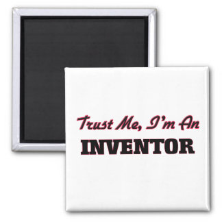Trust me I'm an Inventor Refrigerator Magnets