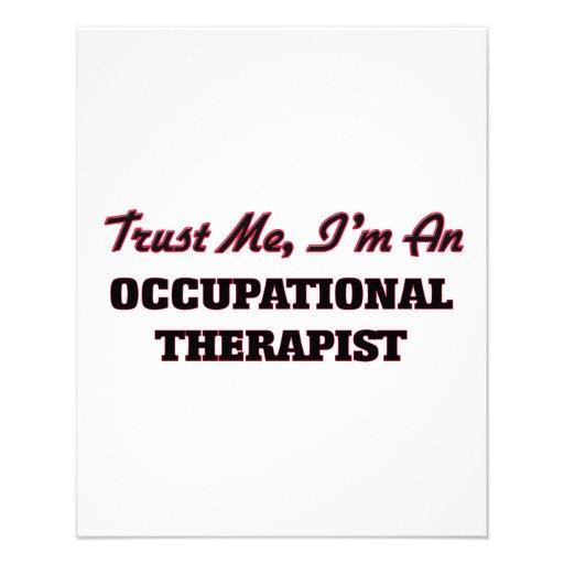 Trust me I'm an Occupational arapist Flyer