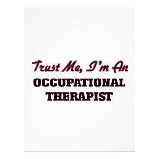 Trust me I'm an Occupational arapist Custom Flyer