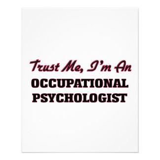 Trust me I'm an Occupational Psychologist Flyer