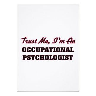 Trust me I'm an Occupational Psychologist Custom Invites