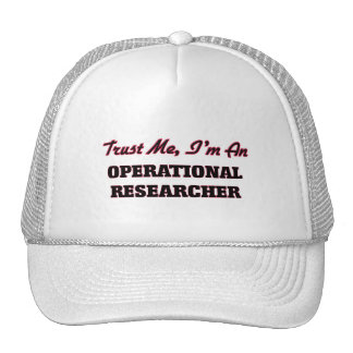Trust me I'm an Operational Researcher Trucker Hat
