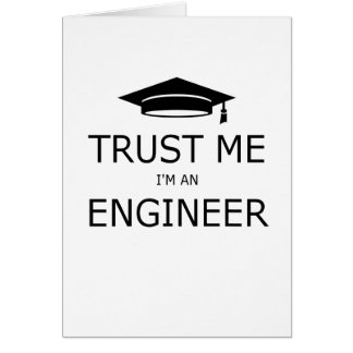 Trust me I'm an to engineer (mortarboard) .pdf Card