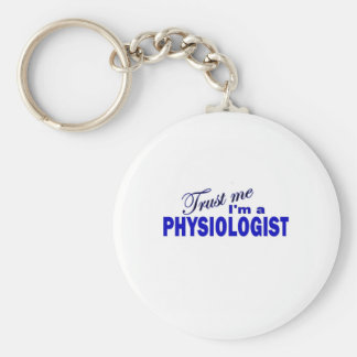 Trust Me I'm aPhysiologist Basic Round Button Key Ring