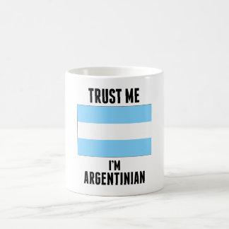 Trust Me I'm Argentinian Mug