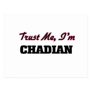 Trust me I'm Chadian Post Card