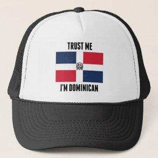 Trust Me I'm Dominican Trucker Hat