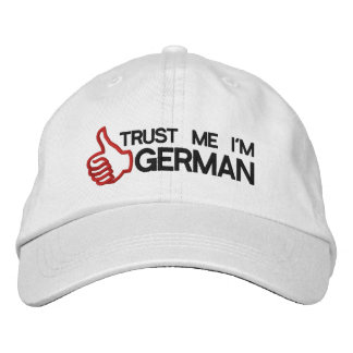 Trust Me I'm German Embroidered Cap