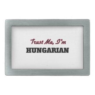 Trust me I'm Hungarian Belt Buckle