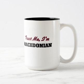 Trust me I'm Macedonian Two-Tone Coffee Mug