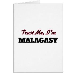 Trust me I'm Malagasy Greeting Card
