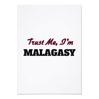 Trust me I'm Malagasy Card