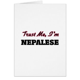 Trust me I'm Nepalese Cards