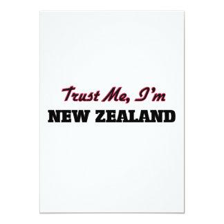 Trust me I'm New Zealand 13 Cm X 18 Cm Invitation Card