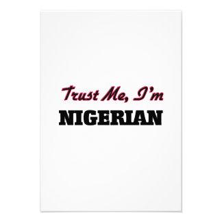 Trust me I'm Nigerian Announcements