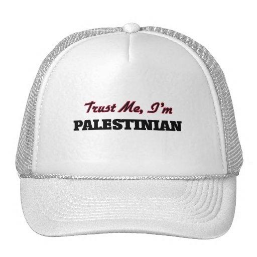Trust me I'm Palestinian Trucker Hats