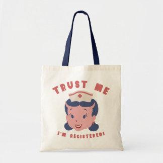 Trust Me - I'm Registered Tote Bag