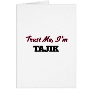 Trust me I'm Tajik Greeting Card