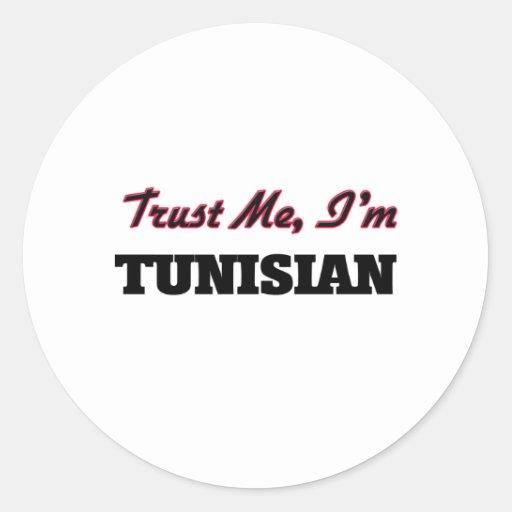Trust me I'm Tunisian Sticker