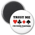 Trust Me I'm Your Partner (Bridge Card Suits)