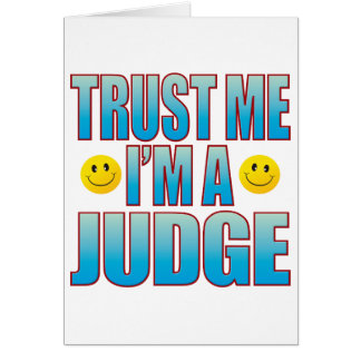 Trust Me Judge Life B Card