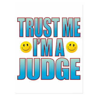 Trust Me Judge Life B Postcard