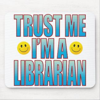 Trust Me Librarian Life B Mouse Mat