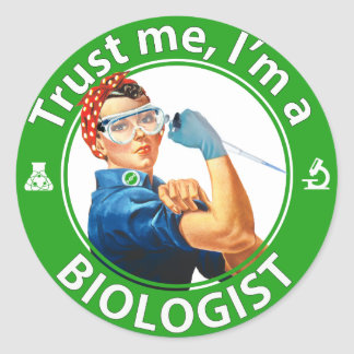 Trust me logo Sticker W/O quote marks