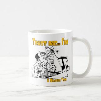Trust Me Master Tech Auto Mechanic Basic White Mug