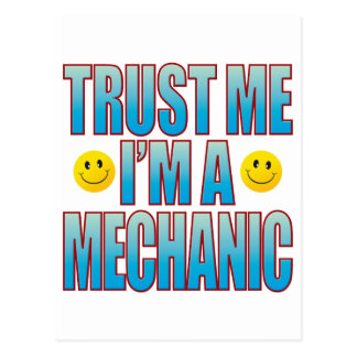 Trust Me Mechanic Life B Postcard