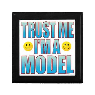 Trust Me Model Life B Small Square Gift Box