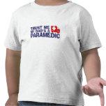 Trust Me My Dad's A Paramedic T-shirt