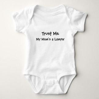 Trust Me, My Mom's a Lawyer Baby Bodysuit