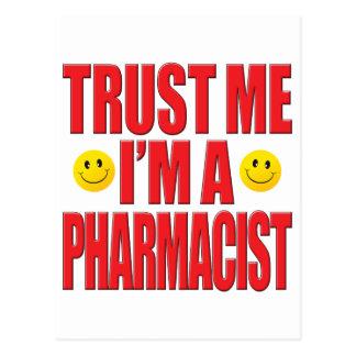 Trust Me Pharmacist Life Postcard