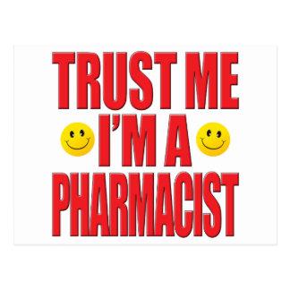 Trust Me Pharmacist Life Post Card