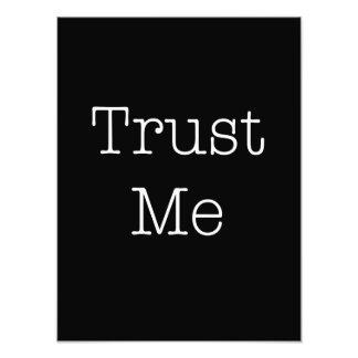 Trust Me Quotes Inspirational Faith Quote Art Photo