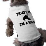 Trust Me Sleeveless Dog Shirt