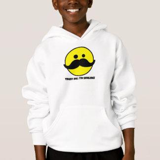 Trust Me Smiley Face Kids' Hanes Hoodie