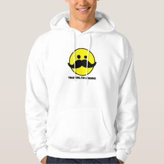 Trust Me Smiley Face Men's Hoodie