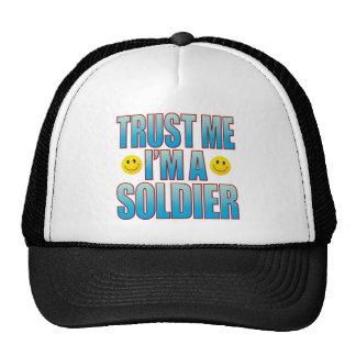 Trust Me Soldier Life B Cap