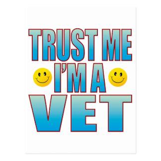 Trust Me Vet Life B Postcard