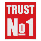 Trust no oneno one poster