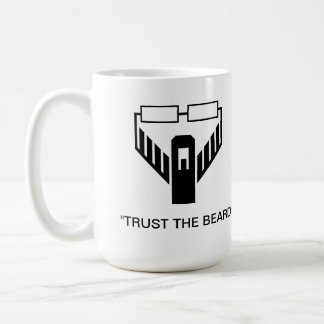 """Trust The Beard"" Logo Mug"