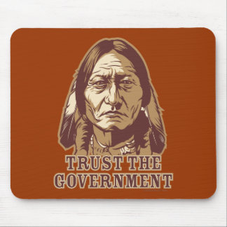 Trust The Government Mouse Mat