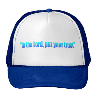 Trust The Lord Hat