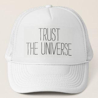 TRUST the Universe Encouraging Quote Cute Cap