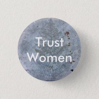 Trust Women 3 Cm Round Badge